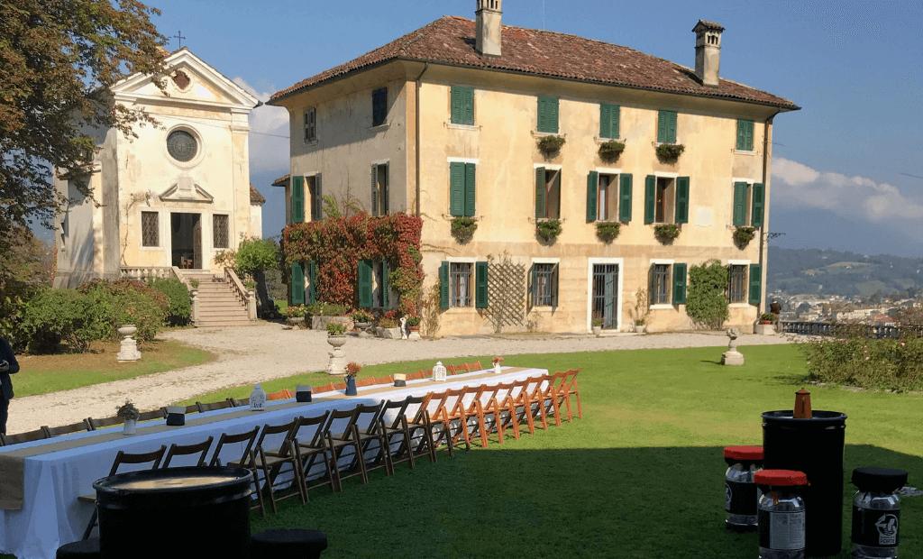 Catering per Festa di Pensionamento, 10 Ottobre 2020, Villa Guarnieri, Feltre (BL)